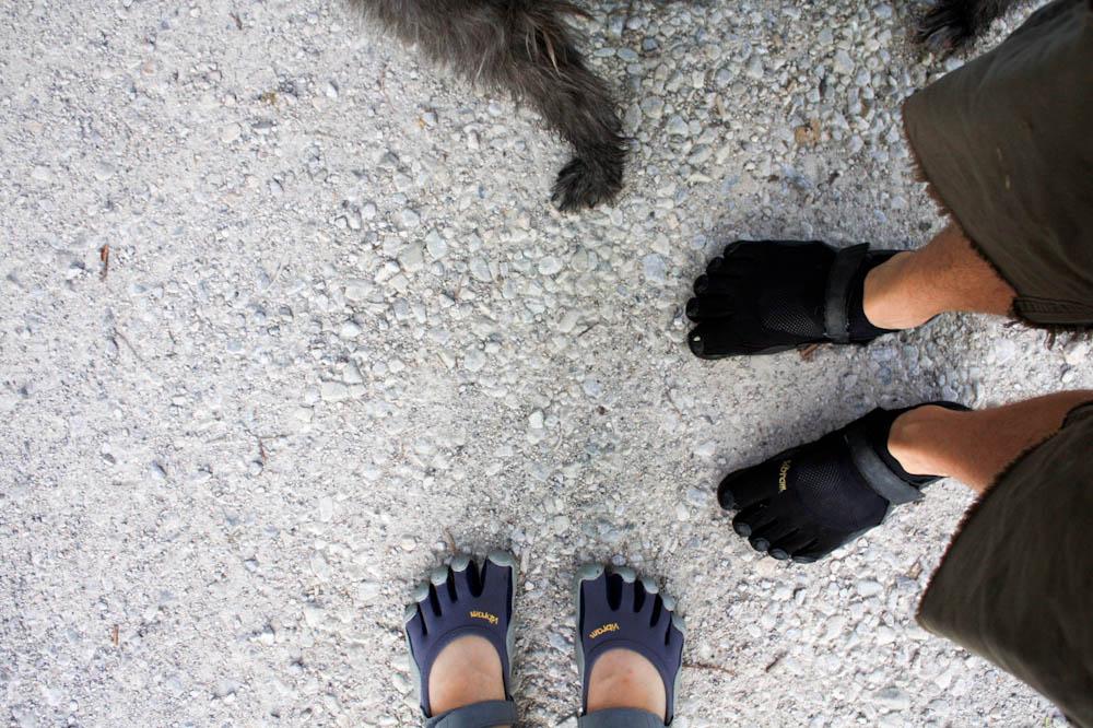 feet vibrams me