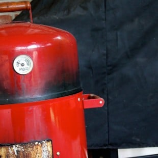 Smokie the Red Robot