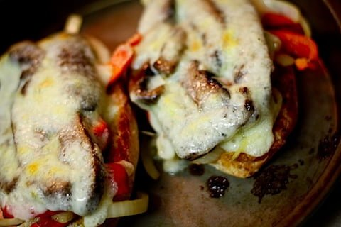 Portabella Cheesesteaks