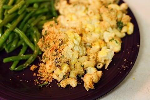 Macaroni and Cheese with Cauliflower