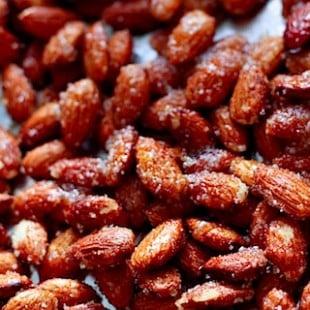 Spicy Sugared Almonds