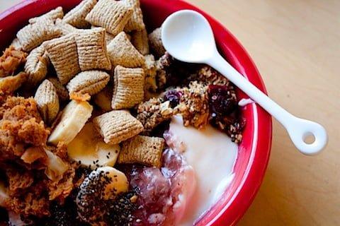 yogurt mess