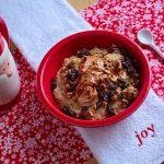 cinnamon eggnog oatmeal