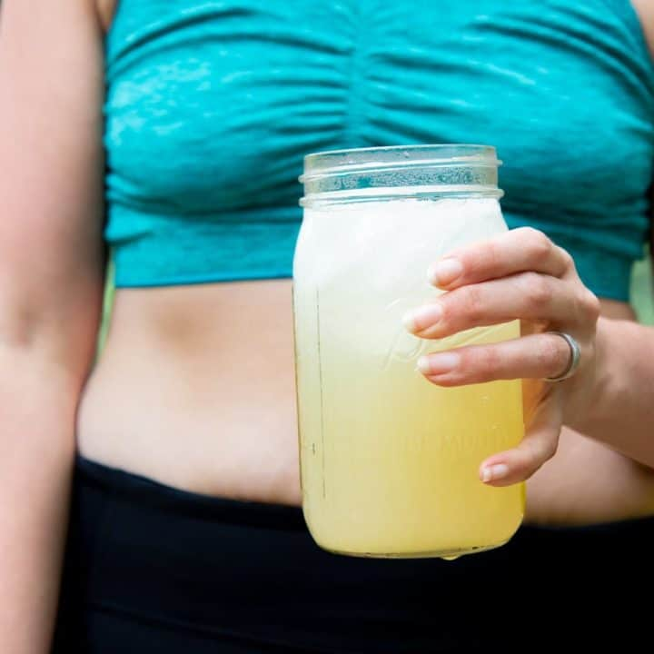 Homemade All-Natural Electrolyte Drink