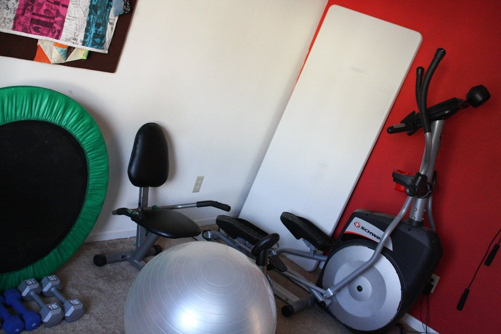 My home gym wholefully