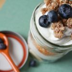 packable fruit and yogurt parfait