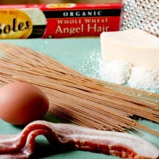 wordless wednesday : spaghetti alla carbonara