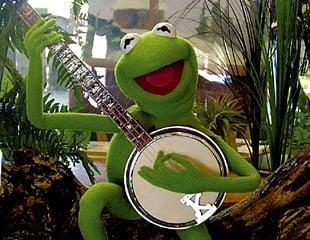kermit-banjo