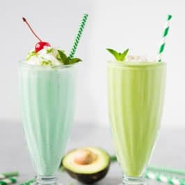 Shamrock Shake - Healthy and a Treat