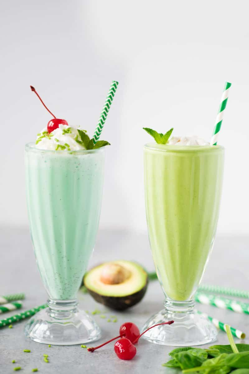 Shamrock Shake - Healthy and a Treat