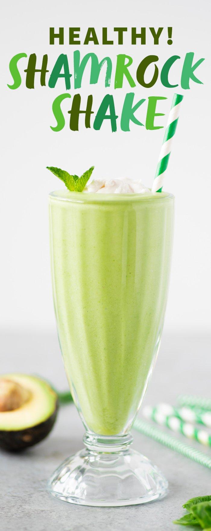Shamrock Shake - A Healthier Take
