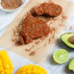 Grilled Blackened Tuna Steaks with Mango Avocado Salsa - Tuna Steaks with Seasoning