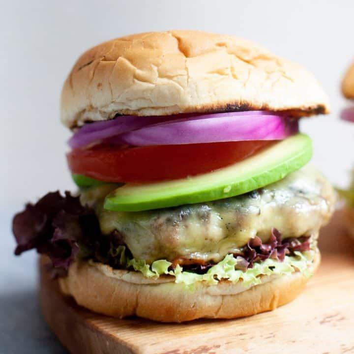 Garden Onion Burgers