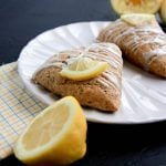 whole wheat lemon poppy seed scones