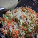 sweet and creamy coleslaw
