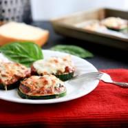 wordless wednesday: zucchini pizzas