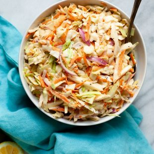 Sweet and Creamy Coleslaw