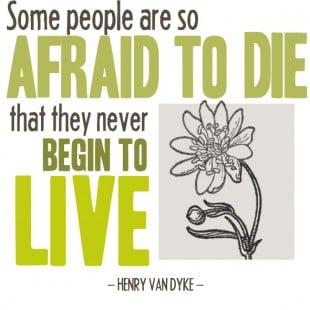 monday motivation: living