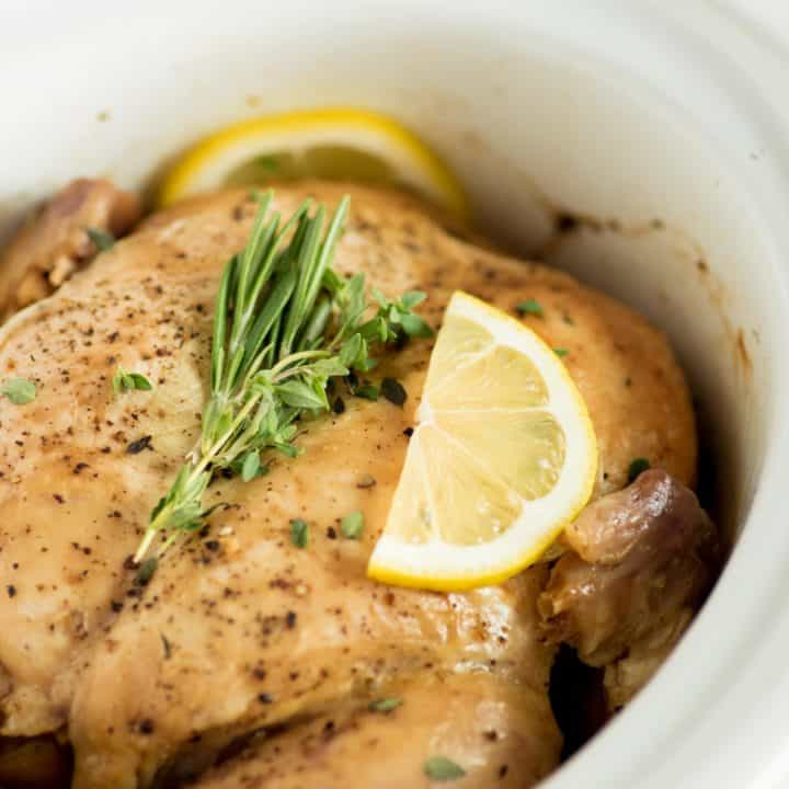 Slow Cooker Fall Apart Chicken