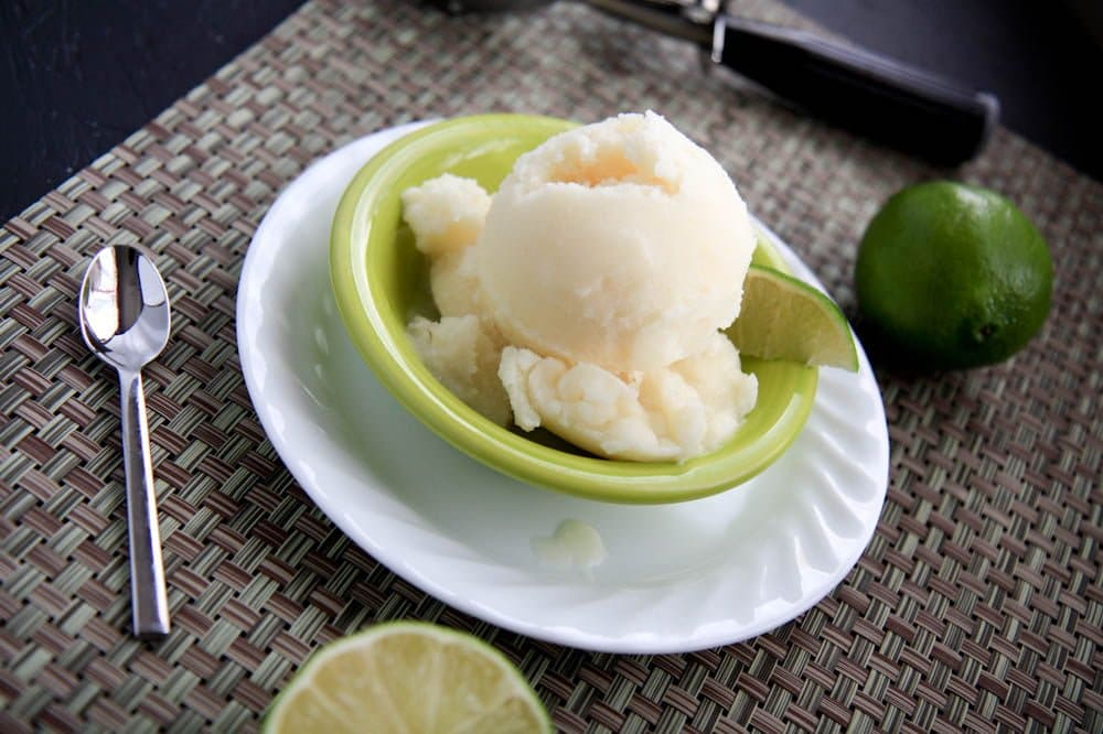 piña colada sorbet - Wholefully