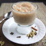 vanilla chai tapioca pudding