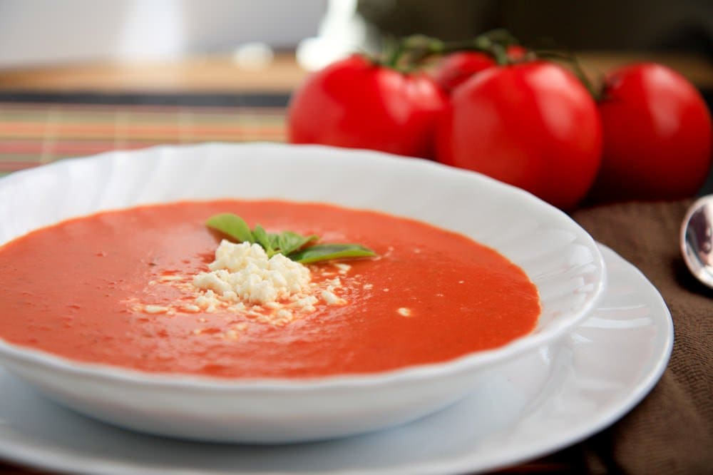 Garden Fresh Tomato Soup Wholefully