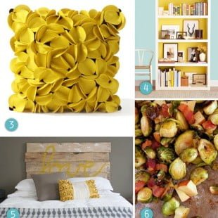 pinterinspiration: mellow yellow
