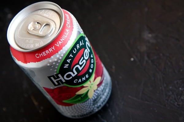hansens soda coke can cola