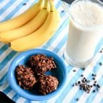 banana no bake cookies (vegan, gluten-free and no added sugar)