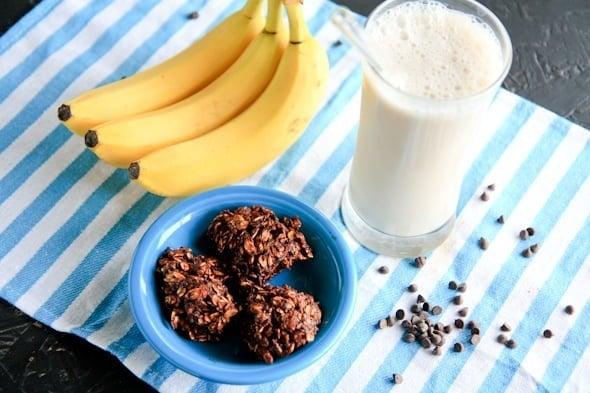 banana no bake cookies (vegan, gluten-free and no added sugar) - Back ...