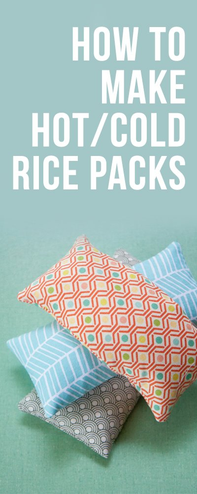 Tutorial Hotcold Rice Packs Wholefully