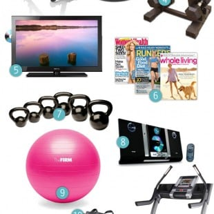 wish list—the ultimate home gym