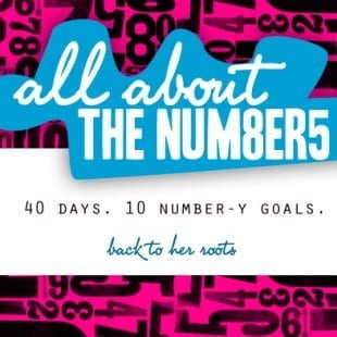 all about the numbers challenge wrap-up