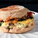 heat and eat quiche breakfast sandwiches