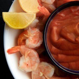 beer boiled peel-and-eat shrimp