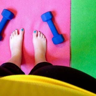 me feet gym workout weights yoga