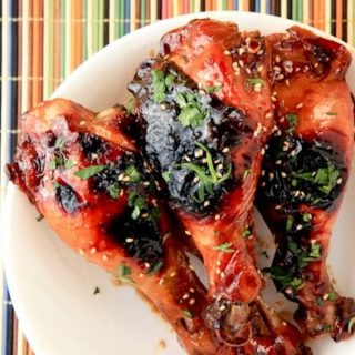 sweet 'n' sticky chicken drumsticks