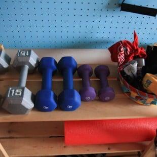 my home gym tour