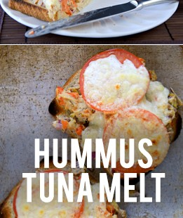 Hummus Tuna Melt