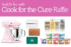 Cook for the Cure Raffle