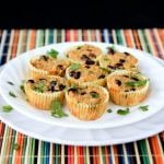 mexican black bean and quinoa cups