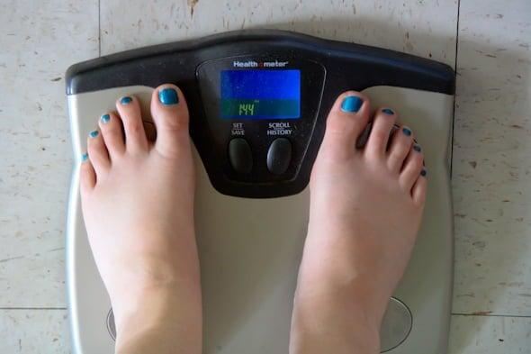 feet scale