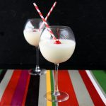 light and creamy piña colada