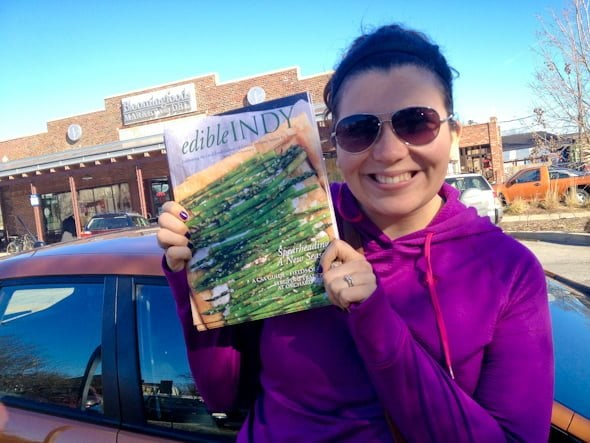 Me and my first cover article (and photo!).
