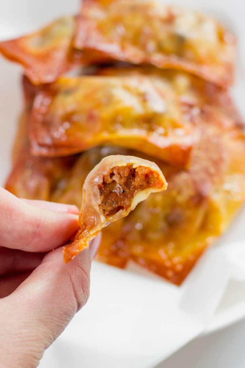 Baked Homemade Pizza Rolls - Wholefully