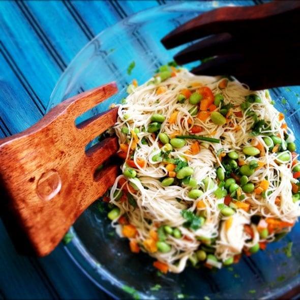seasame soba noodle salad