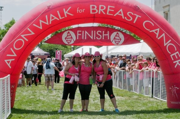 avon breast cancer walk: part one - Wholefully