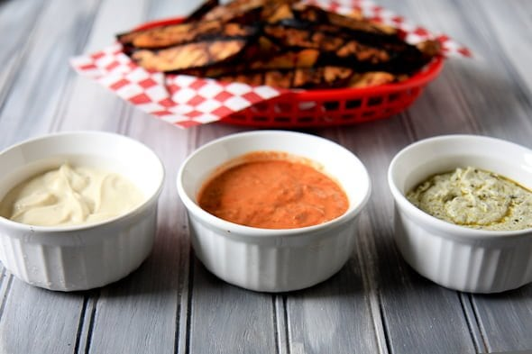 Three sauces