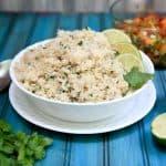 cilantro lime brown rice