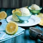 honey lemon zest frozen yogurt